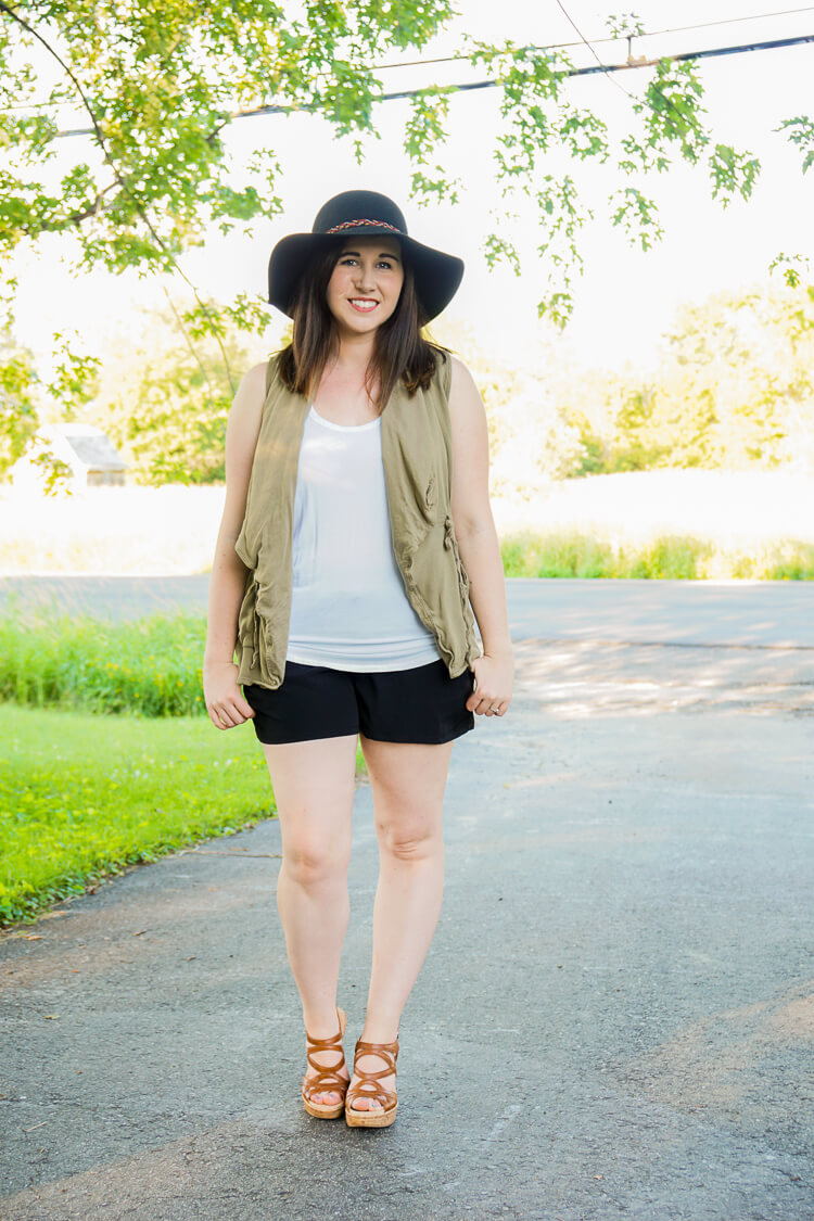 Golden Tote Review July 2016 - Perfect Pocket Shorts