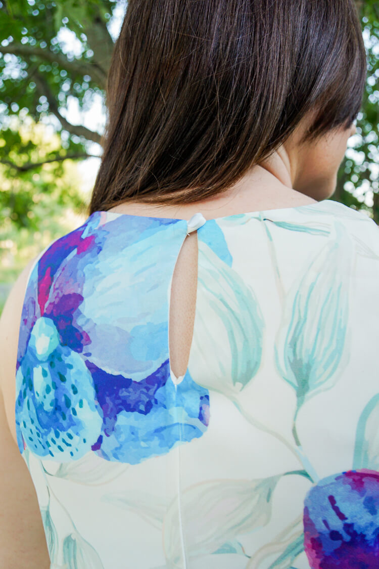 Golden Tote Review July 2016 - Jella C Floral Sleeveless Top