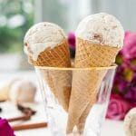This No Churn Chinese Five Spice Ice Cream is an easy and unique dessert! It's made without an ice cream maker and the traditionally savory spices lend beautifully to the sweet cream for a summer treat your taste buds will love!