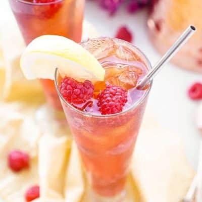 Easy Raspberry Iced Tea