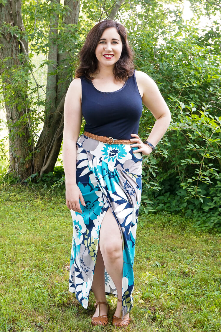 Gilli - Arden Printed Maxi Skirt - Stitch Fix