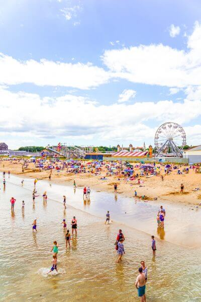 Visiting Old Orchard Beach, Maine
