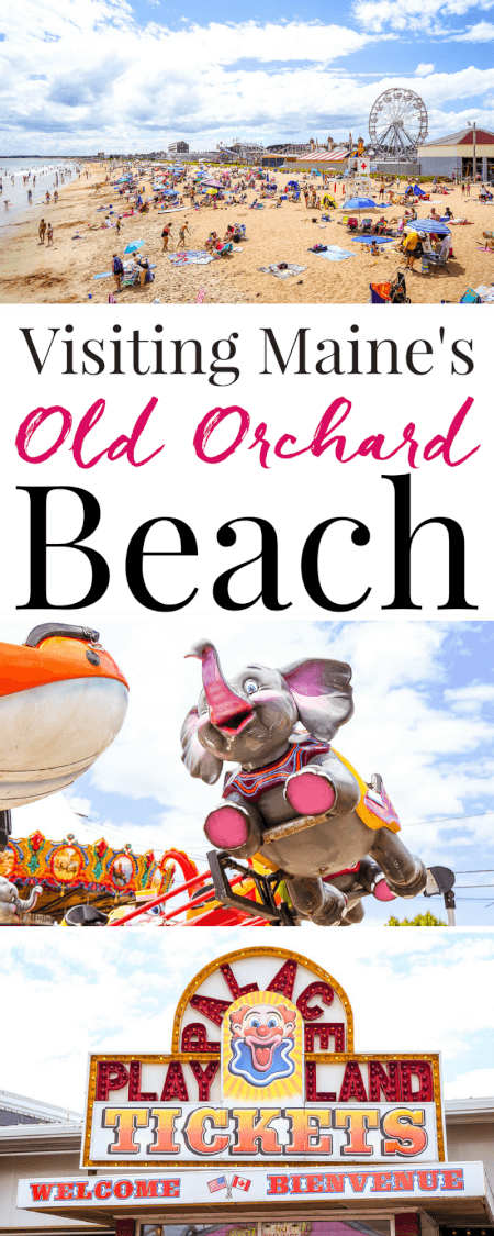 Planning a summer trip to Maine, make sure you add Old Orchard Beach to your itinerary! The Pier, beach, food, and amusement park are a summer MUST! via @sugarandsoulco