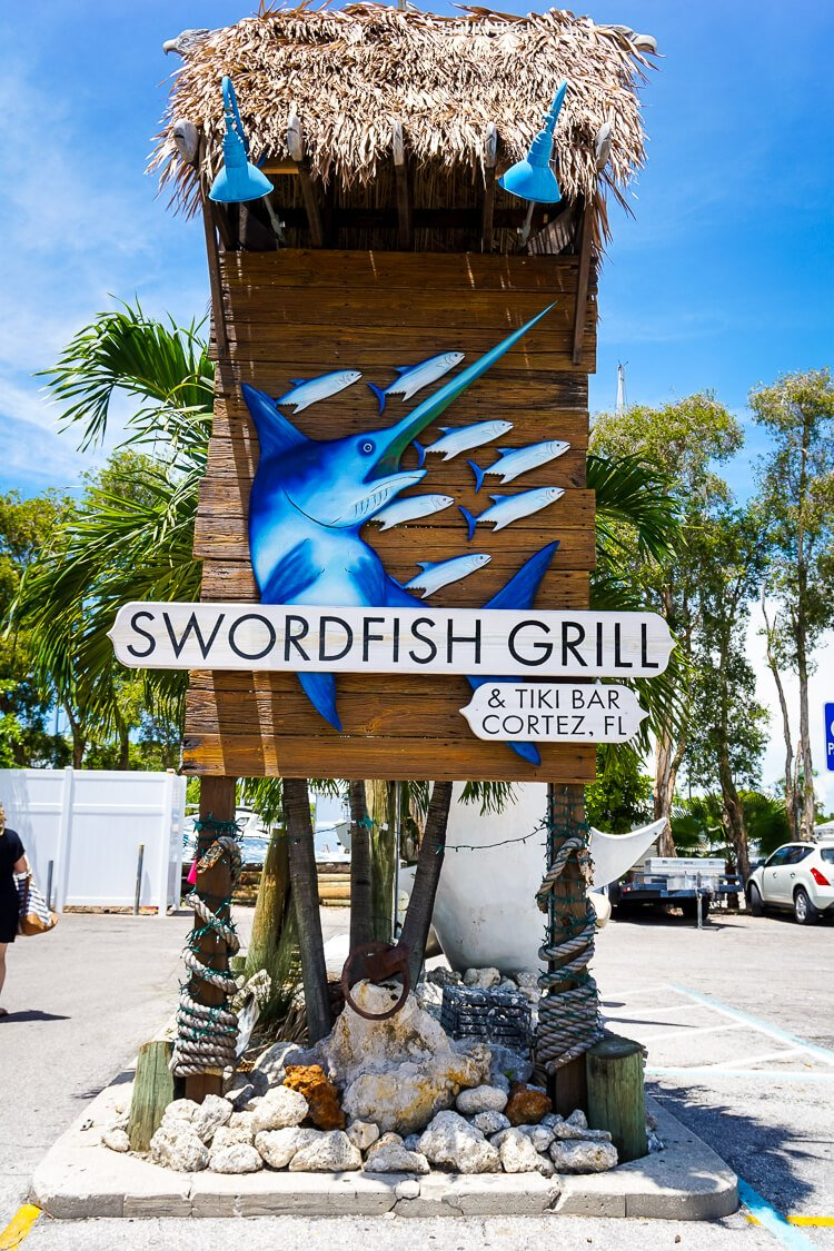 Swordfish Grill near Anna Maria Island