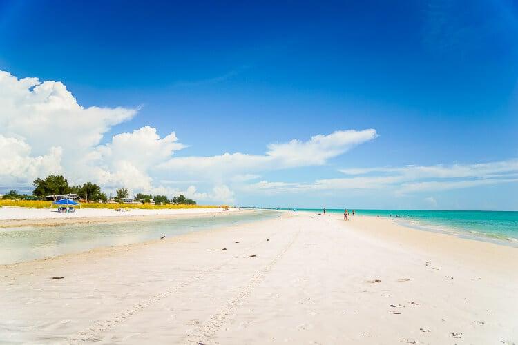 White Sand Beach Anna Maria Island
