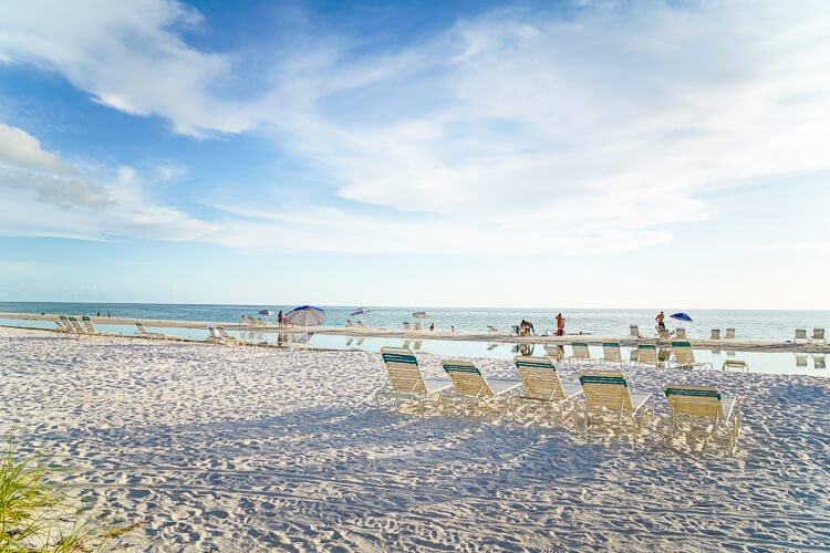 Tortuga Inn Beach on Anna Maria Island