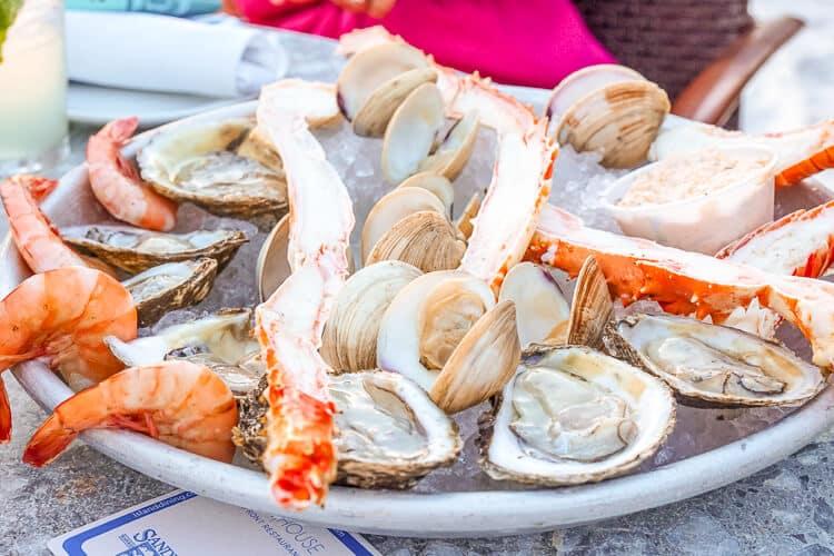 Seafood in Anna Maria Island