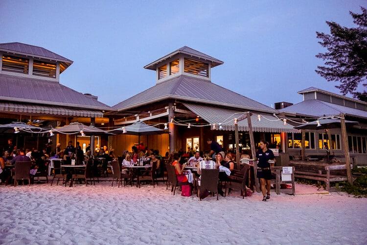 Sandbar Restaurant Anna Maria Island