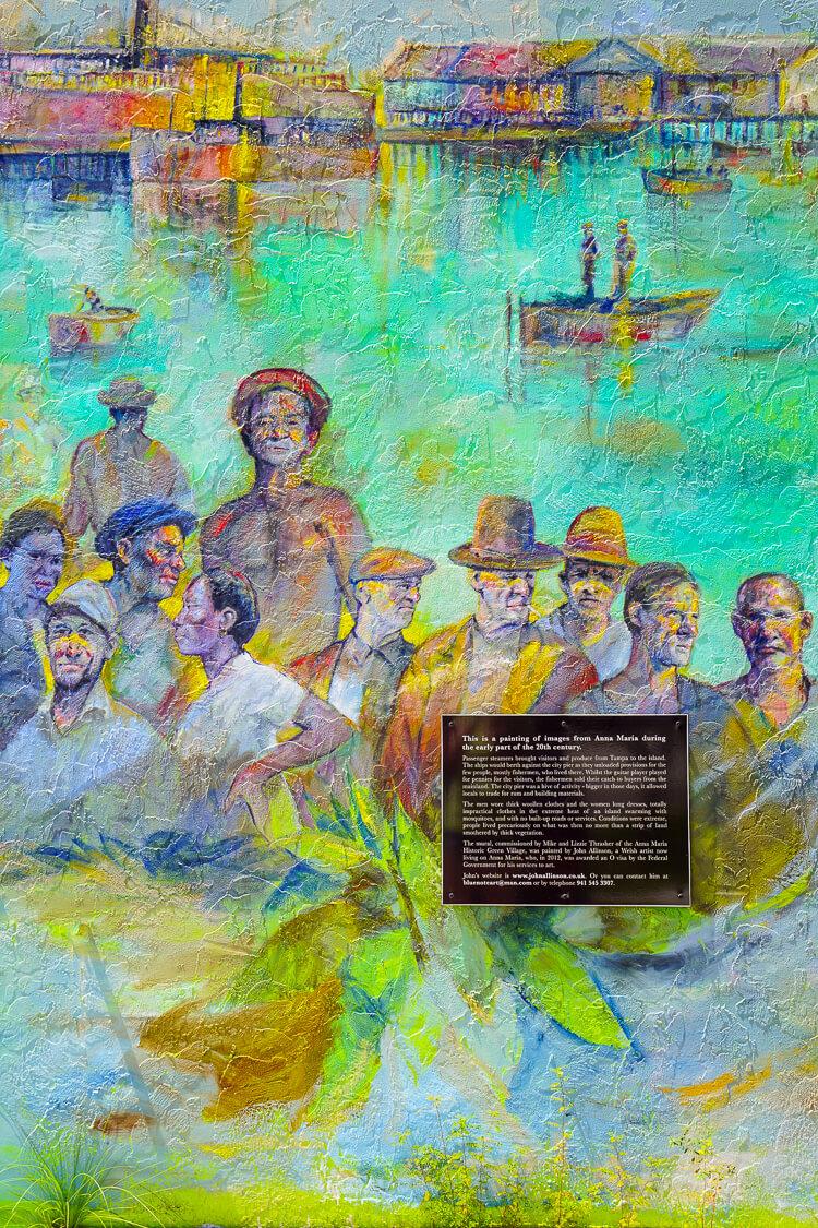 Mural Monument in Anna Maria Island