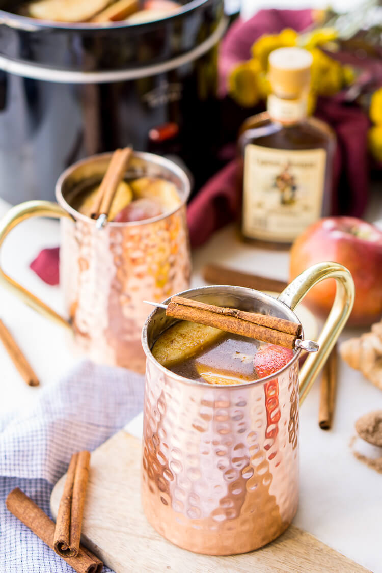 holiday season! Seasoned with cinnamon, apples, and ginger, this cider ...