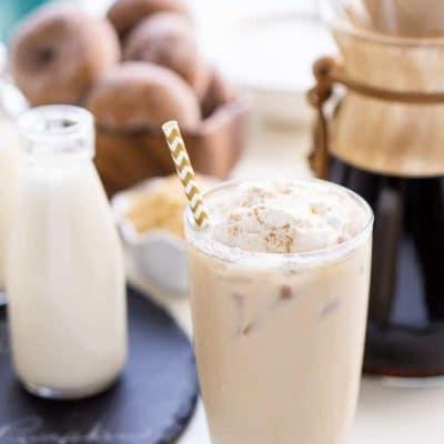 Iced Coffee Bar & Homemade Creamers