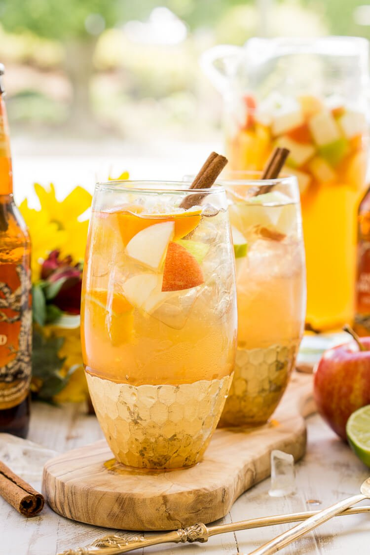 Big Batch Apple Cider Sangria