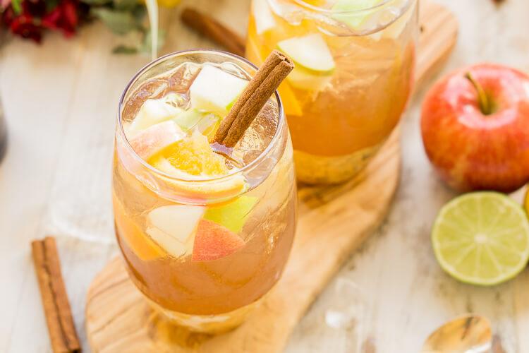 Hard Apple Cider Sangria Recipe