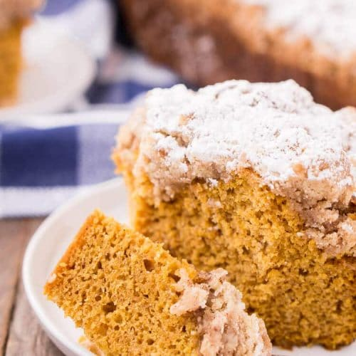 Vanilla Pumpkin Coffee Cake