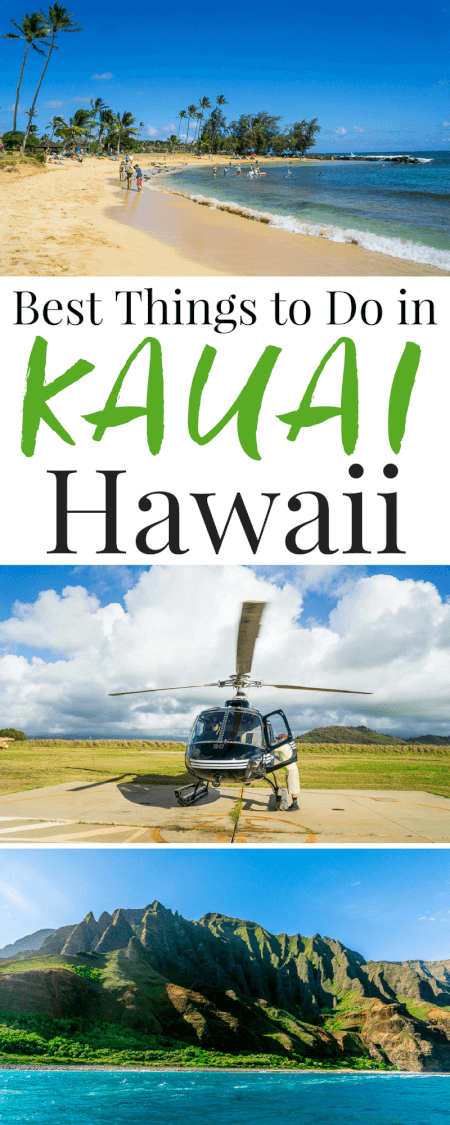 Planning a trip to Kauai, Hawaii and looking for fun and exciting ways to explore and experience everything the island has to offer? Check out this list of the Best Things To Do In Kauai for great ideas and recommendations from scenic hikes to luaus! via @sugarandsoulco