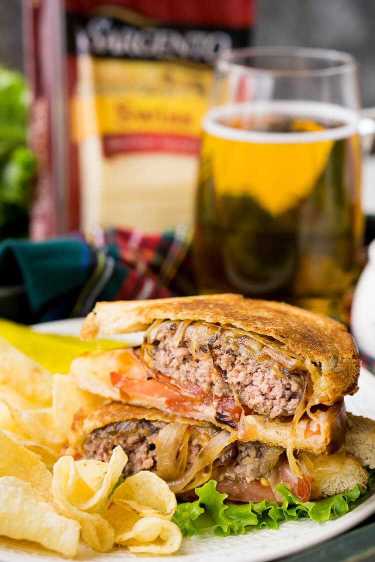 Classic Patty Melt is a comfort food staple - a juicy burger with ...