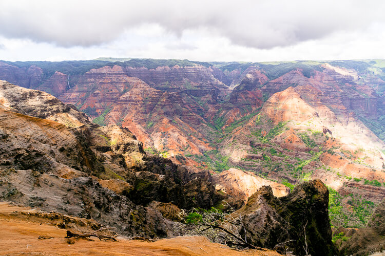 Waimea Canyon State Park - These Things To Do In Kauai Hawaii are fun and exciting ways to explore and experience everything the island has to offer!