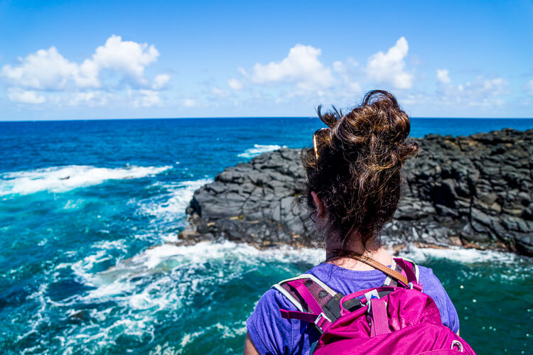 Queen's Bath - These Things To Do In Kauai Hawaii are fun and exciting ways to explore and experience everything the island has to offer!