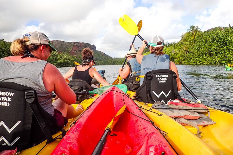 Kayak Tour - These Things To Do In Kauai Hawaii are fun and exciting ways to explore and experience everything the island has to offer!