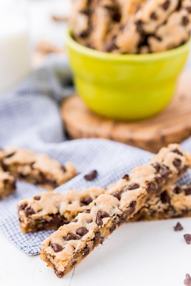 Chocolate Chip Cookie Sticks