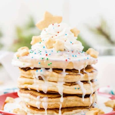 Sugar Cookie Pancakes