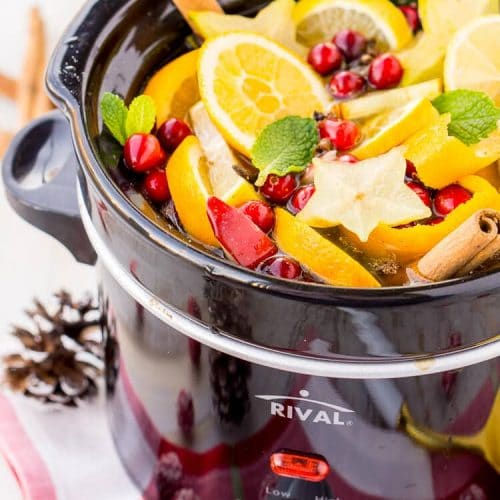 DIY Holiday Crock Pot Potpourri