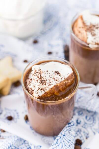 French Hot Chocolate Coffee