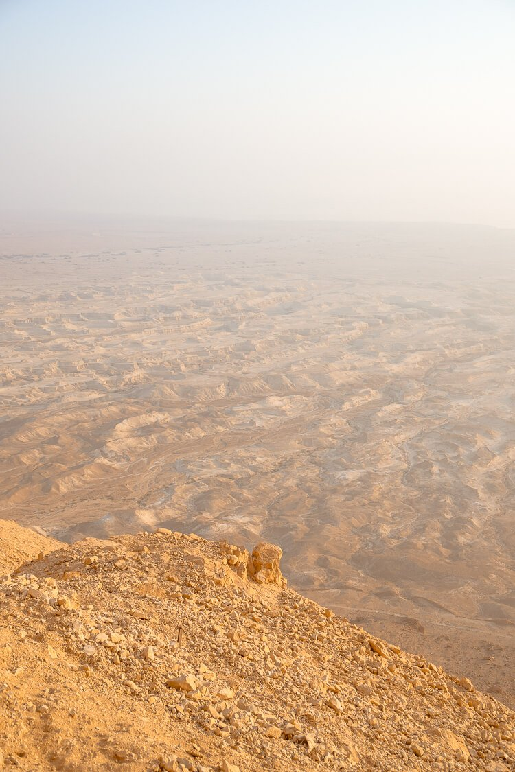Planning a trip to Israel? Make sure a sunrise hike of Masada is on your itinerary, just an hour outside of Jerusalem, welcome the day from atop this ancient city and spend some time exploring the ruins. Here are a few tips to make the most of your trip!