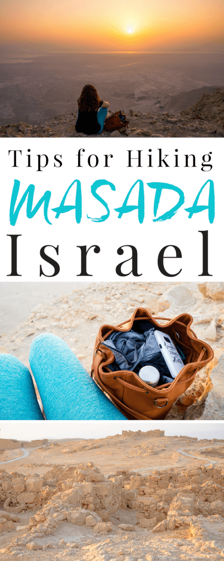 Planning a trip to Israel? Make sure a sunrise hike of Masada is on your itinerary, just an hour outside of Jerusalem, welcome the day from atop this ancient city and spend some time exploring the ruins. Here are a few tips to make the most of your trip! via @sugarandsoulco