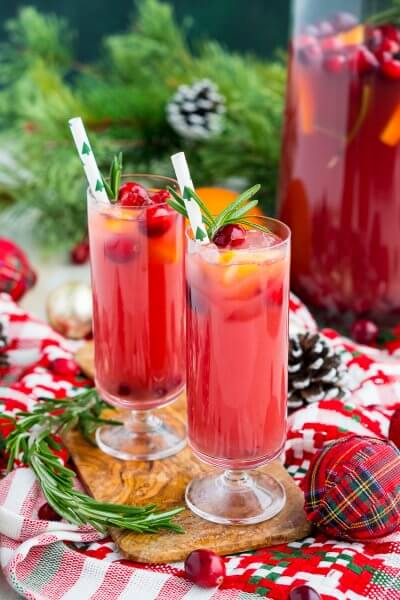 Christmas Punch (Boozy or Not)