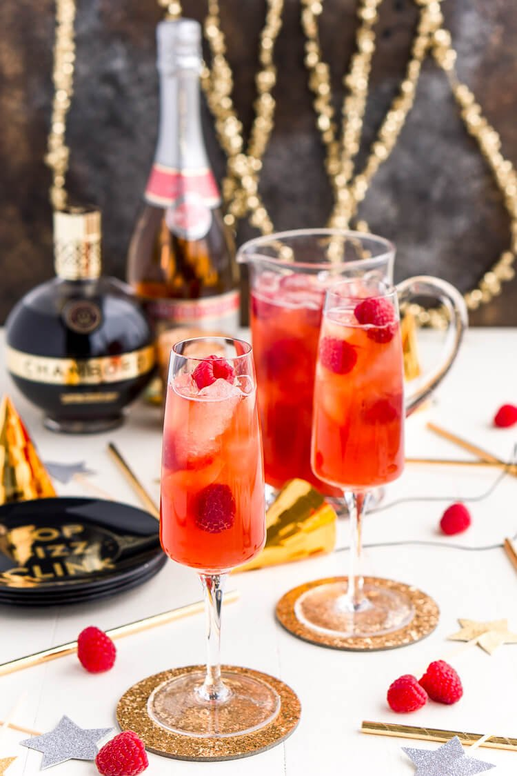 NYE Drink Recipe - Champagne Punch