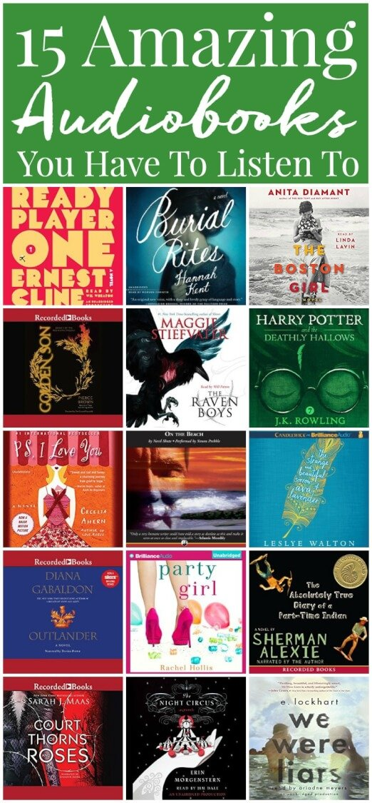 Love books but don't have the time to sit down with one? Check out this Beginner's Guide to Audible, plus 15 audiobooks you HAVE to listen to! via @sugarandsoulco