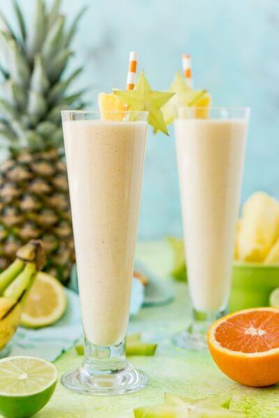 Hawaiian Sunshine Fruit Smoothie