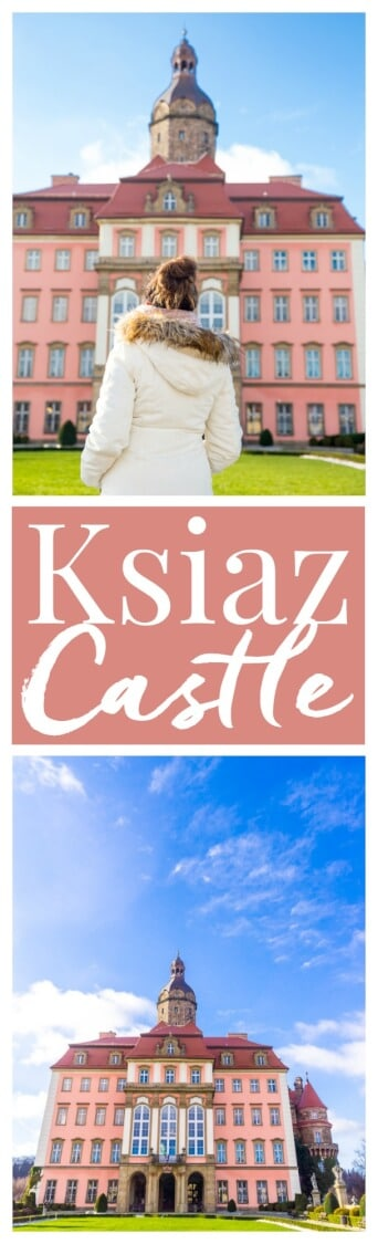 Ksiaz Castle & Hotel in Poland is a charming castle with budget-friendly accommodations nestled in the hills and mountains of Poland! via @sugarandsoulco