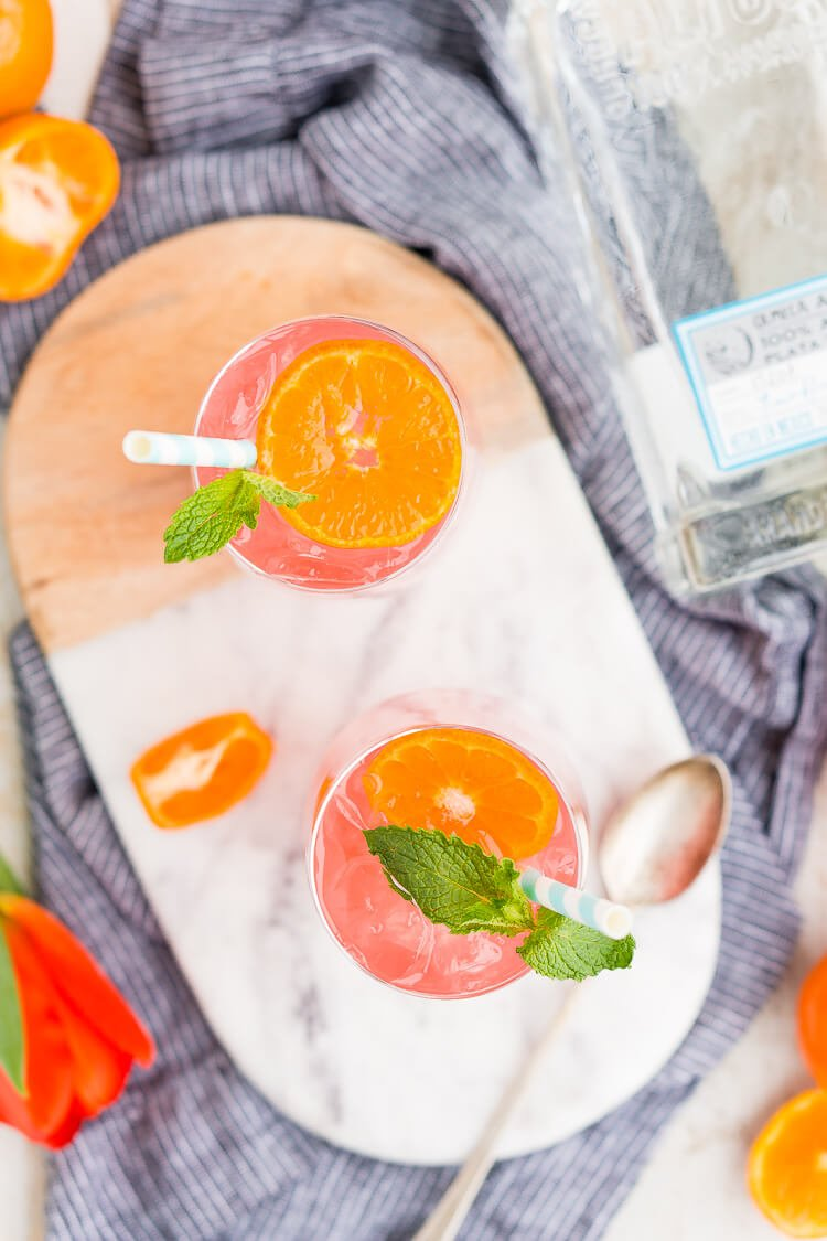 Cactus Cooler Tequila Cocktail is a blend of smooth artisan tequila with orange, tangerine, lime, and cranberry juice with a touch of triple sec and finished off with lemon-lime soda.