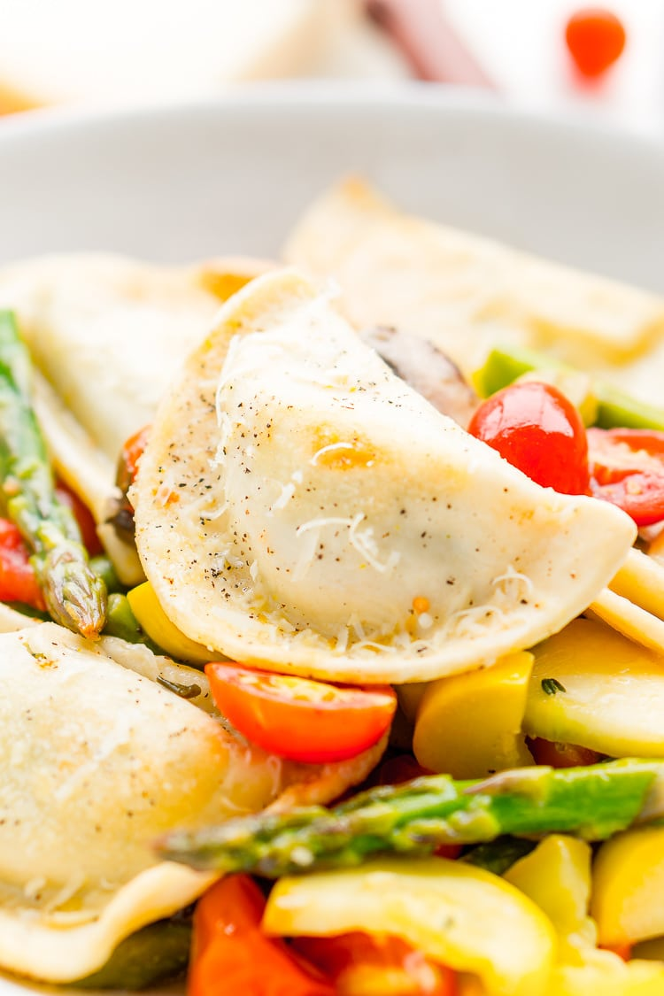 Garden Vegetable Pierogy Primavera