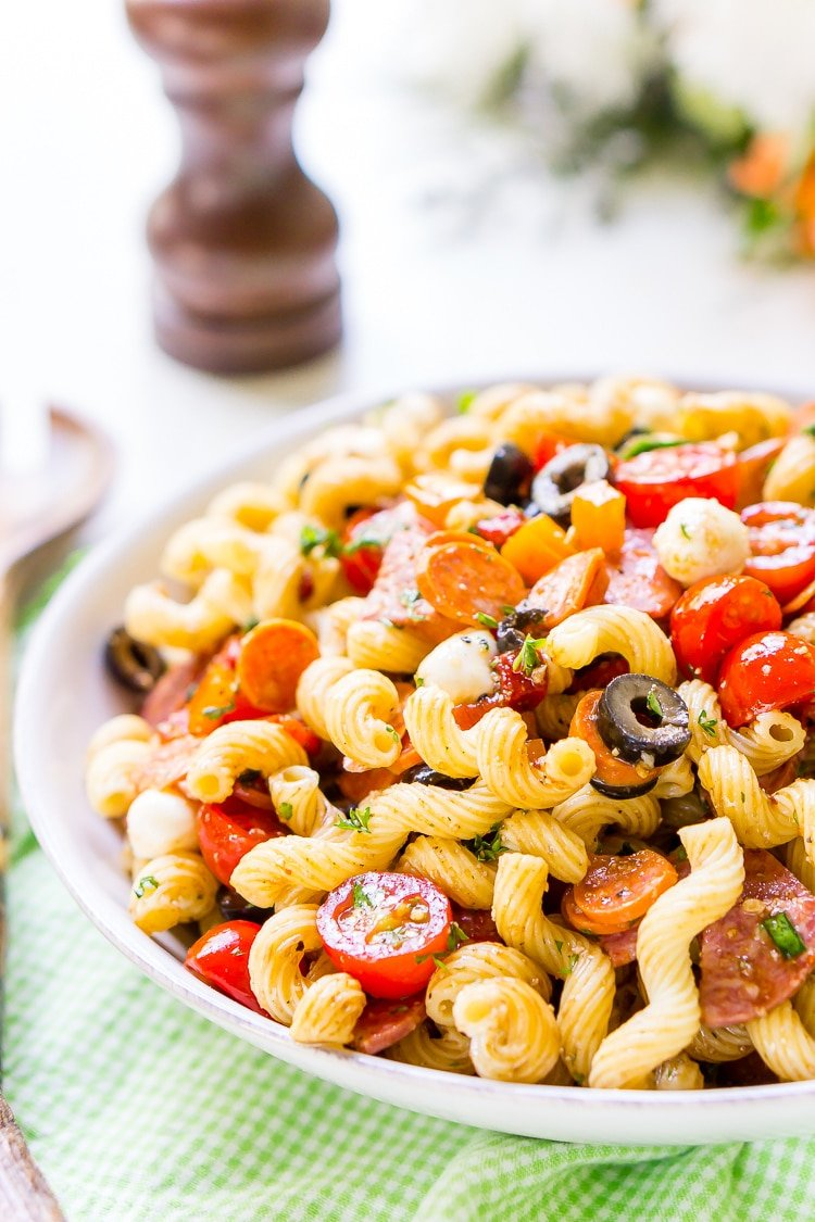 Easy Antipasti Pasta Salad Recipe