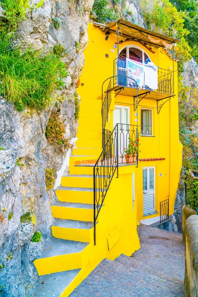 Conca dei Marini is a small village along the Amalfi Coast in Italy and it's the perfect place to escape the crowds and experience the beauty this region has to offer.