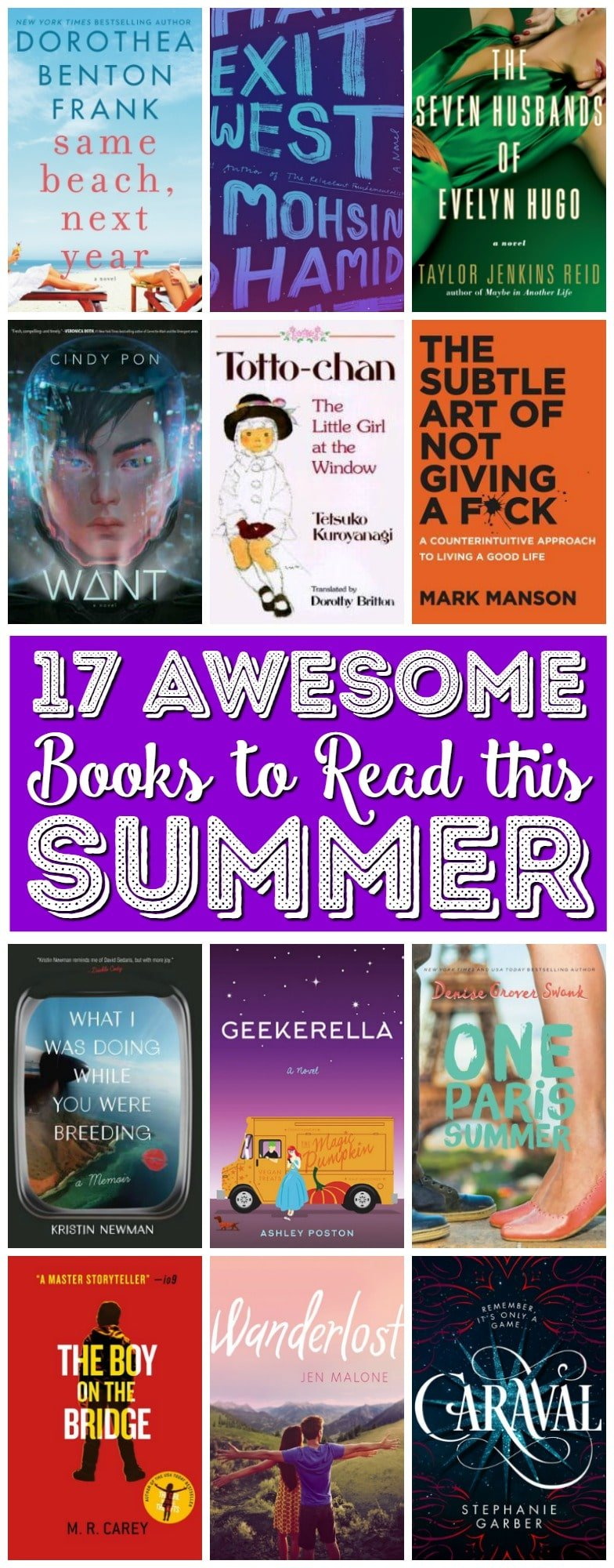 These 17 Books To Read This Summer are filled with love, action, advice, and so much more! They're the perfect companion for a day at the beach, a flight, or an afternoon lounging in the hammock. via @sugarandsoulco