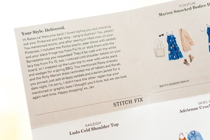 Stitch Fix Review June 2017 - Fashion delivered right to your door!