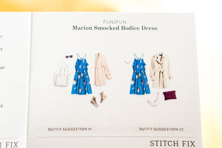 Stitch Fix Review June 2017 - Fun2Fun Marion Smocked Bodice Dress