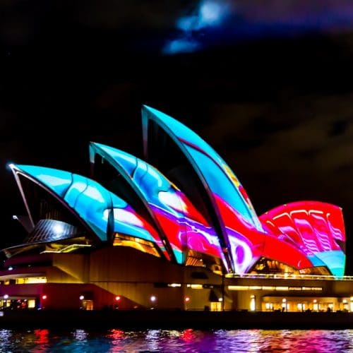 A Tourists Guide to Vivid Sydney