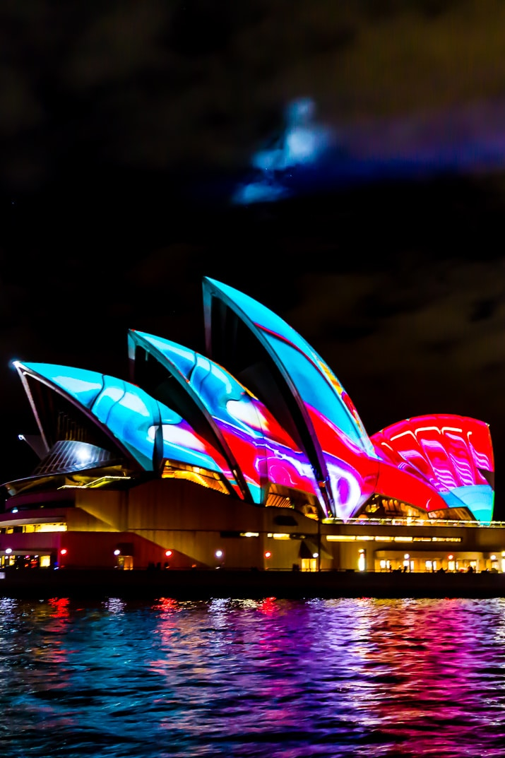Planning a trip to Sydney, Australia? Make sure to go during the winter and plan your trip around Vivid Sydney for a festival of lights that can't be missed!
