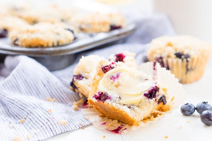 Homemade Blueberry Muffins Recipe | Sugar & Soul