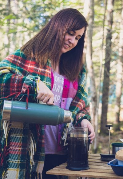 Looking for a magical Maine vacation in the woods but not too far from the coast? Head to Tops'l Farm for some Glamping in Maine!