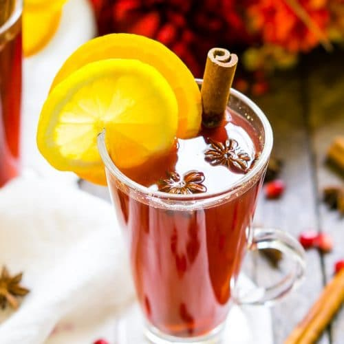Easy Homemade Pomegranate Cider