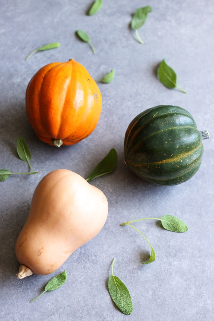 This simple recipe for Roasted Winter Squash with Brown Butter and Sage is a quick side dish that you can prepare in just 30 minutes. It's a great way to utilize in season produce and celebrate Fall's flavor.