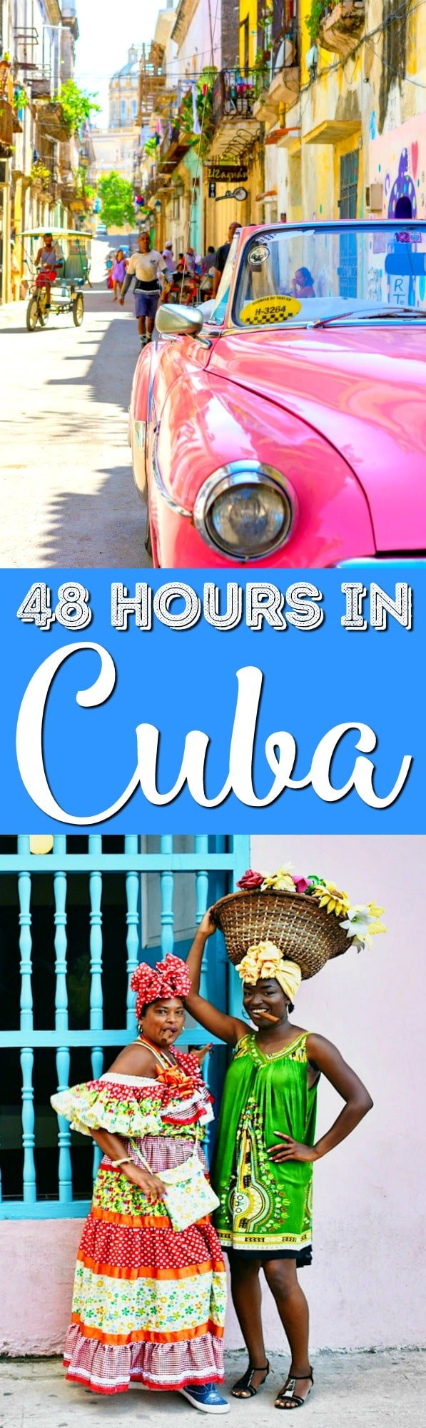 Havana, Cuba's vibrant capital has so much to offer. But what if you're crunched for time? No problem. This is a guide for Havana Cuba in 48 hours. via @sugarandsoulco