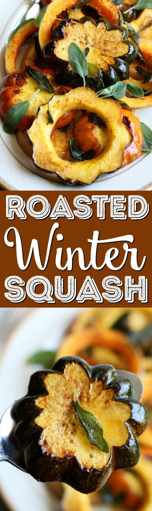 This simple recipe for Roasted Winter Squash with Brown Butter and Sage is a quick side dish that you can prepare in just 30 minutes. It's a great way to utilize in-season produce and celebrate Fall's flavor. via @sugarandsoulco