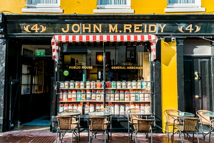 John M. Reidy Public House in Killarney Ireland
